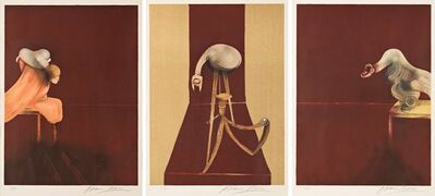 Francis Bacon, 'Second Version of Triptych 1944, (Small Version)', 1989
