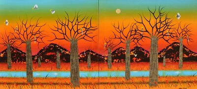 Peter Coad, 'Summer Landscape - Kimberly 1 and 2 (Diptych)', 2013-2014