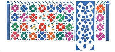 Henri Matisse, 'Décoration - Fruits', 1954