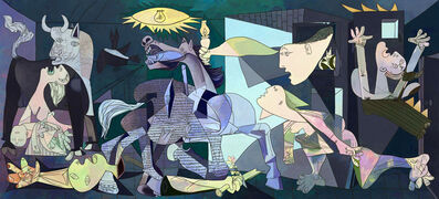 Francisco Bugallo, 'Pablo Picasso as a Pretext - Guernica No. 1', 2014