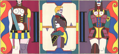 Richard Lindner, 'Changing Sexuality (Triptych)', 1973