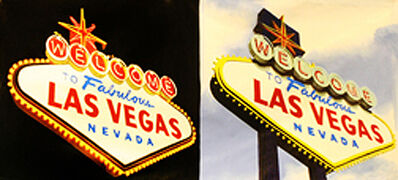 Steve Kaufman, 'DOUBLE WELCOME TO LAS VEGAS (GIANT)', 2001-2007