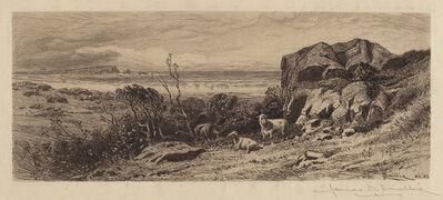 James David Smillie, 'At Marblehead Neck', 1883