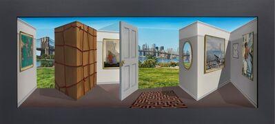 Patrick Hughes, 'A Cardboard Box', 2019
