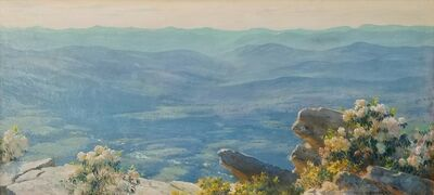 Charles Courtney Curran, 'West from Bear Cliff', ca. 1915