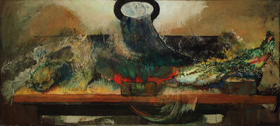Hyman Bloom, 'A Leg with Skull', ca. 1979