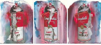 Mr. Brainwash, 'Torn Spray Can - Set', 2020