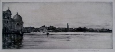 Mortimer Menpes, 'Lagoon, Venice', ca. 1910