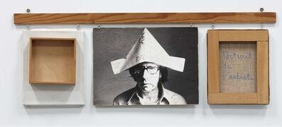 Robert Filliou, 'Autoportrait bien fait, mal fait, pas fait (Self-Portrait Well Made, Badly Made, Not Made)', 1973