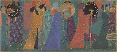 Vittorio Zecchin, 'Les mille et une nuits (One thousand and one nights)', c. 1914