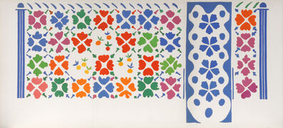 Henri Matisse, 'Decoration - Fruits. Maquette for an unfinished CeramicWall Decoration.', 1953-1954