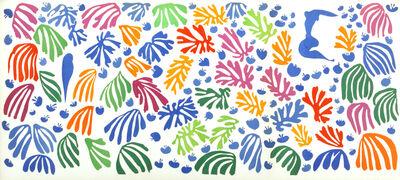 Henri Matisse, 'La Perruche et la Sirene. The Parakeet and the Siren.', 1952-1954