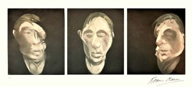 Francis Bacon, 'Three Studies for a Selfportrait', 1981