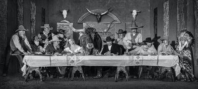 David Yarrow, 'The Last Supper In Texas', 2021
