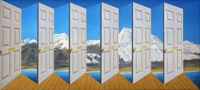 Patrick Hughes, 'Himalayan Hues', 2007