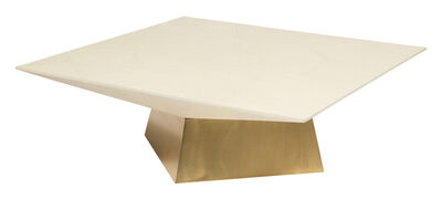 Ron Seff, 'Brass and Shagreen Braque Low Table', 1980s