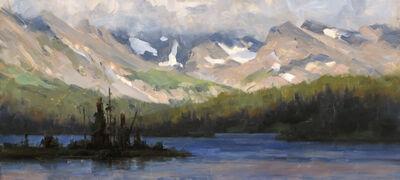 Dave Santillanes, 'Long Lake, Study', 2015