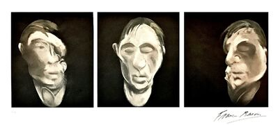 Francis Bacon, 'Three Studies for a Selfportrait', 1990