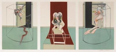 Francis Bacon, 'L'Orestie d'Eschyle (After Triptych inspired by the Oresteia of Aeschylus)', 1981