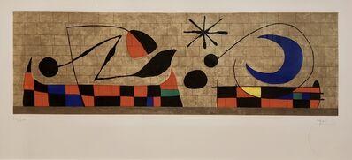 Joan Miró, 'Mur De La Lune (D.471).', 1958