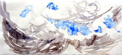 Cony Theis, 'Wolkenstudie 1', 2019