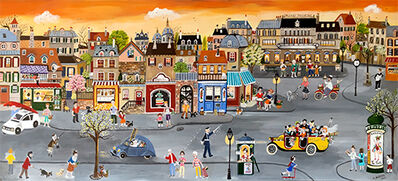 Bernadette Brouze, 'La grande rue ', 2016