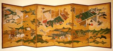 Matabei, 'Tales of Genji', about 1650