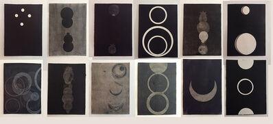 Luis Romero, 'Del libro Negro de la noche I', 2013
