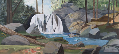 Mariella Bisson, 'Wolf Creek Falls Panorama', 2021