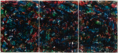 Norman Bluhm, 'Stained Glass Landscape #9', 1957