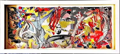 Frank Stella, 'New Paintings (from the collection of UACC President Cordelia Platt), 1994, Hand signed and dated by Frank Stella', 1994
