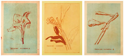 Thomas Schütte, 'Fucking Flowers I, II, III,', 2009