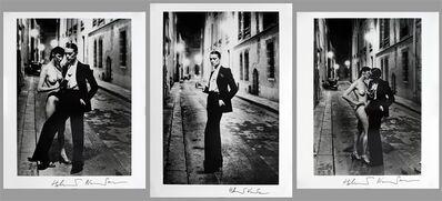 Helmut Newton, 'Rue Aubriot, Yves St Laurent, Triptych, 1975', 1975