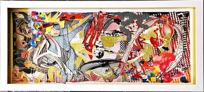 Frank Stella, 'Hand signed offset lithograph (from the collection of UACC President Cordelia Platt)', 1994