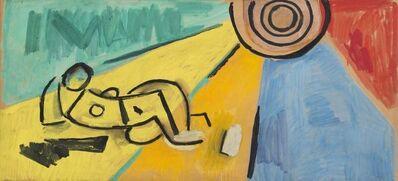 Miguel Ángel Pareja, 'Proyecto de Mural', 1962
