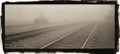 Kerik Kouklis, 'Railroad Tracks and Fog', 1996