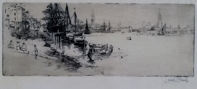Joseph Pennell, 'Yesterday and Today in Venice', 1883