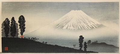 Hiroaki Takahashi (Shotei), 'Mt. Fuji in Mist', ca. 1932