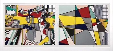 Roy Lichtenstein, 'Tel Aviv Museum', 1989
