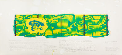 David Reed, 'Color Study #7', 2020