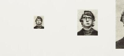 Chuck Close, 'Keith/Four Times', 1975