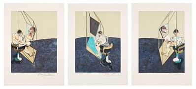 Francis Bacon, 'Three studies of a male back ', 1987