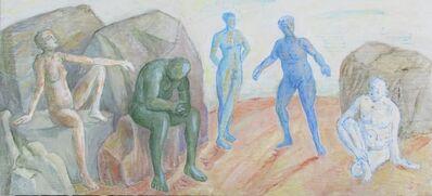 Sam Thurston, 'Five Figures', 2020