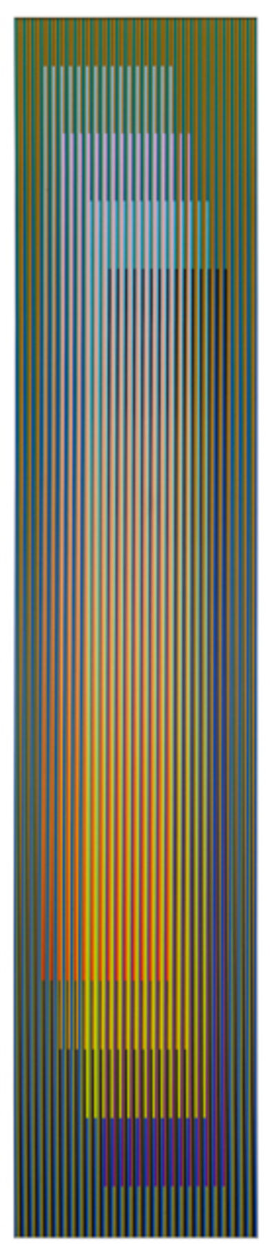 Carlos Cruz-Diez, 'Color aditivo serie larga Panam 1', 2011