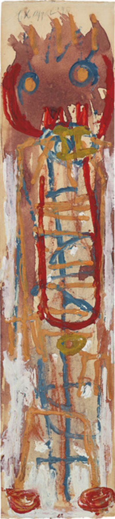 Karel Appel, 'Laddermannetje', 1948