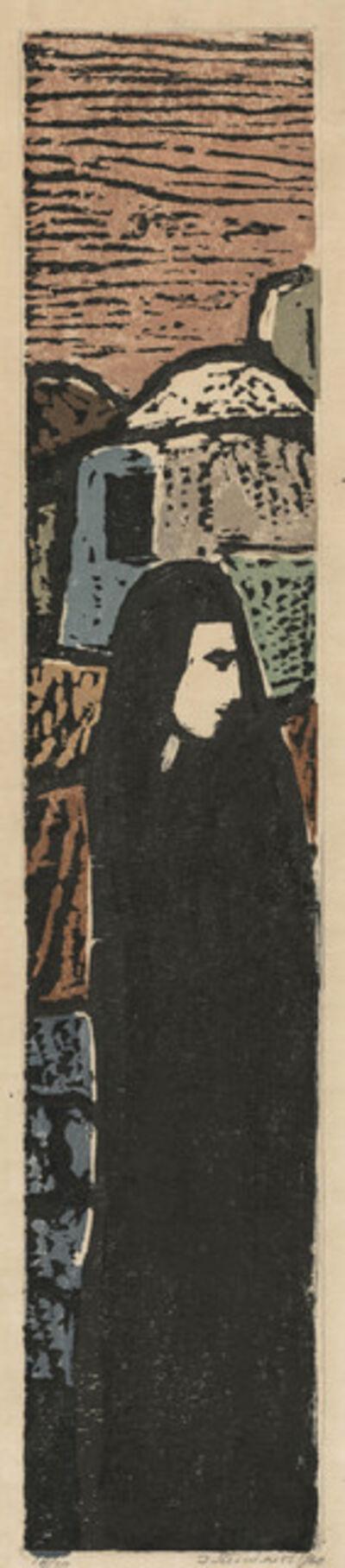 Jakob Steinhardt, '[Woman in Profile]', 1960