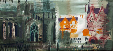 John Piper, 'Northern Cathedral', 1960
