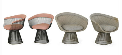 Warren Platner, 'Pair of armchairs and lounge chairs', 1970s