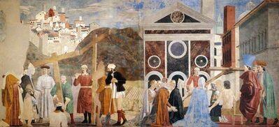 Piero Della Francesca, 'Recognition and Proving of the True Cross', 1450s