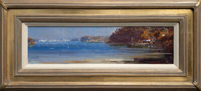 Ken Knight, 'The Sheltered Bay, Sydney Harbour (Sirius Cove)', 2020